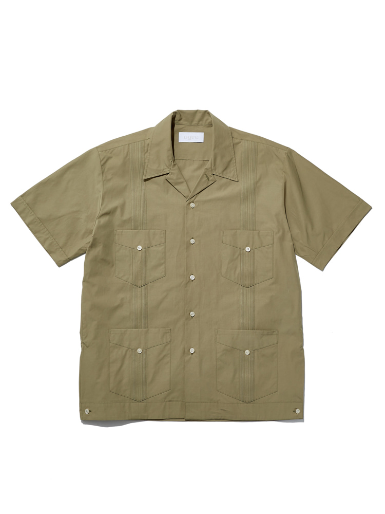 디그레(Dgre)CORNWALL SHORT SLEEVE SHIRTS OLIVE