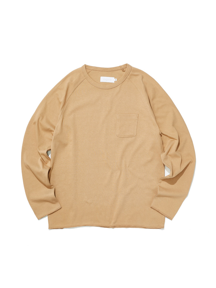 디그레(DGRE)LONG RAGLAN SLEEVE BEIGE