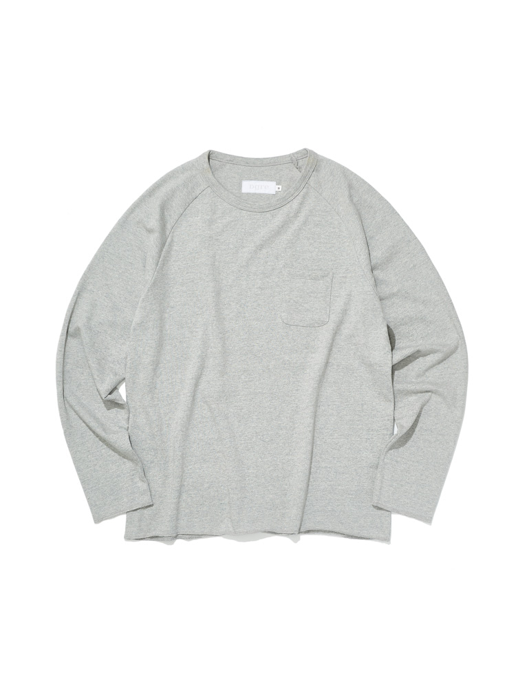 디그레(DGRE)LONG RAGLAN SLEEVE GREY