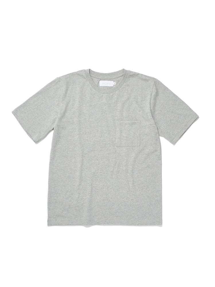 디그레(DGRE)POCKET SHORT SLEEVE GREY