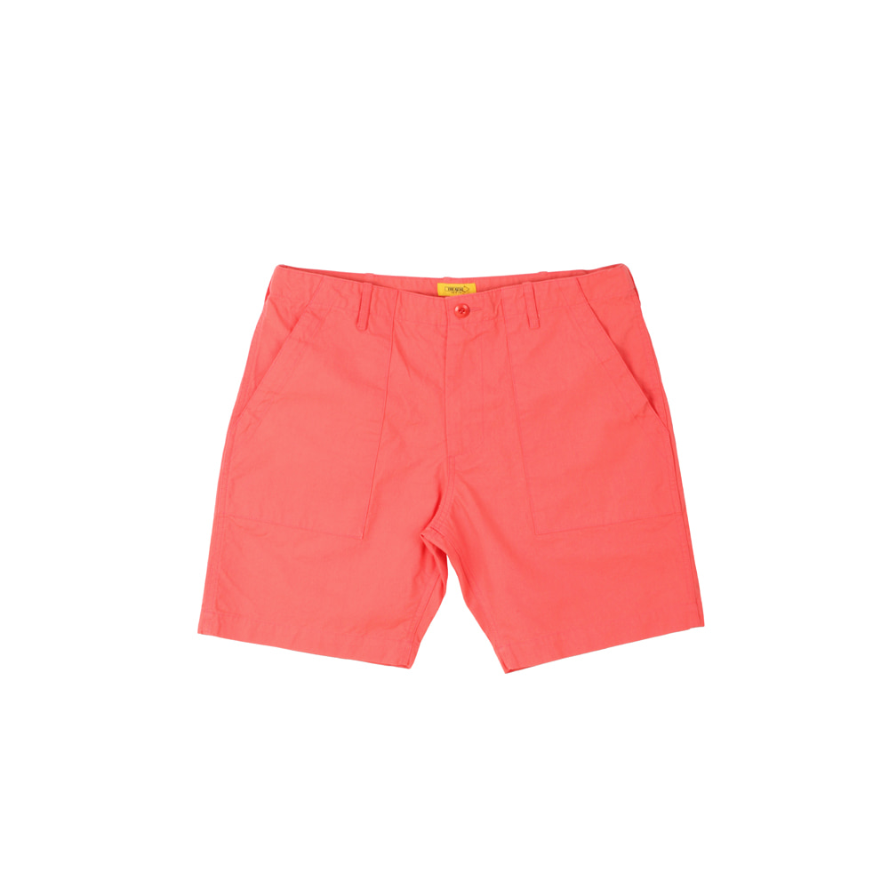 더레스큐(THERESQ) ORGANON SHORTS [CORAL]