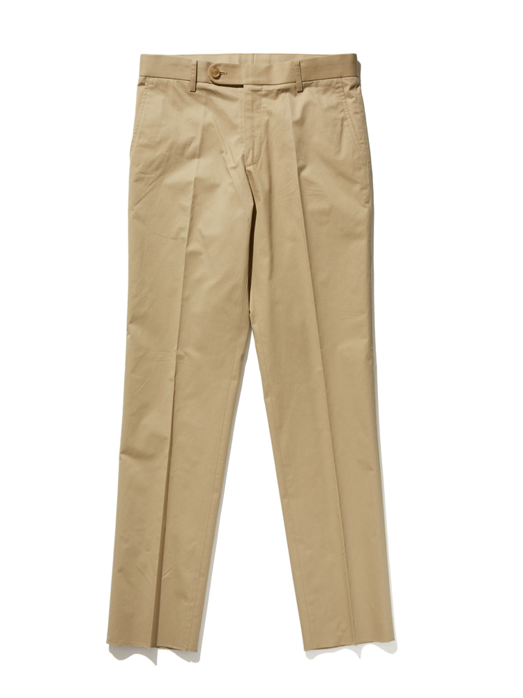 디그레(DGRE)COVENT SLIM STRAIGHT PANTS BEIGE