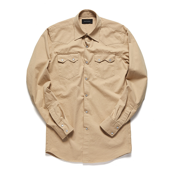 세비지(SAVAGE)Begie Western Shirts