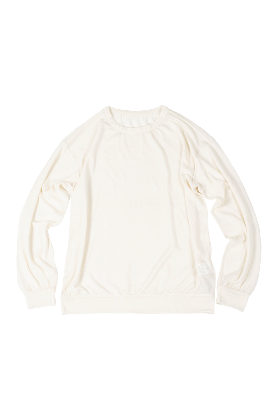 아티튜드(ARTTITUDE)Drape Knit Tee / Off White