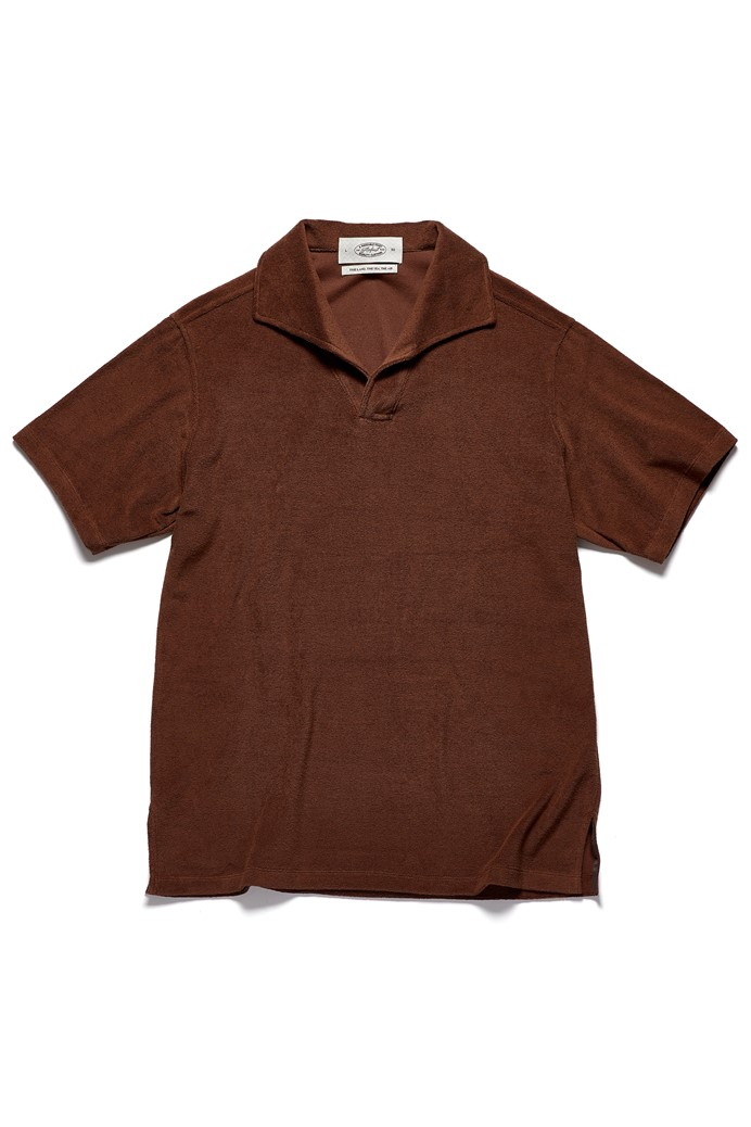 SIGNATURE TERRY POLO BrownAmfeast(암피스트)