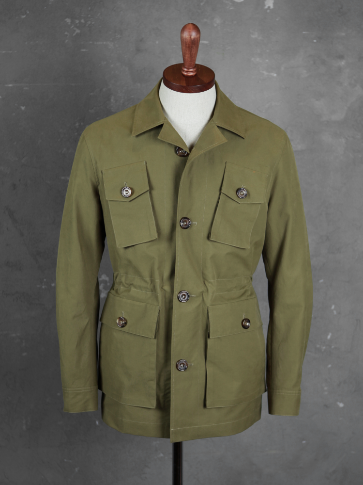 벨보로(BELLVORO)ITALIAN ARMY FIELD JACKET_OLIVE GREEN
