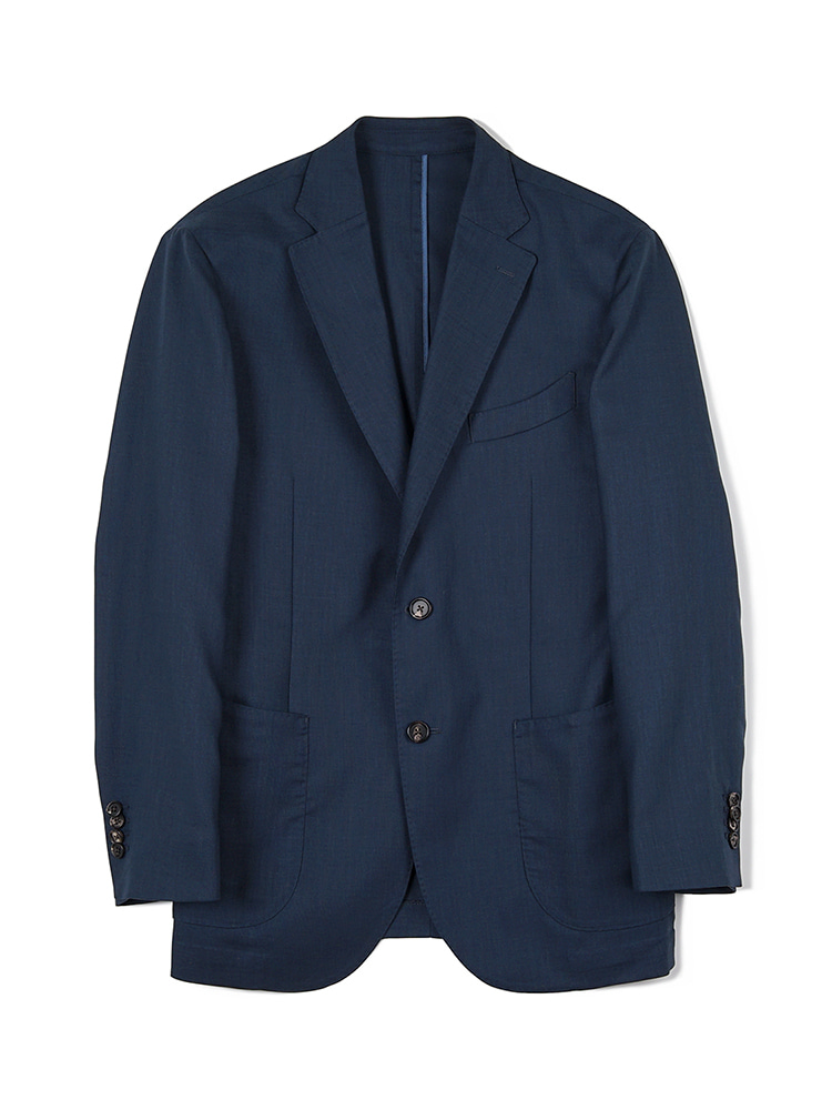 반츠(BANTS) FLB Dry Smashing 2B Single Jacket - Navy
