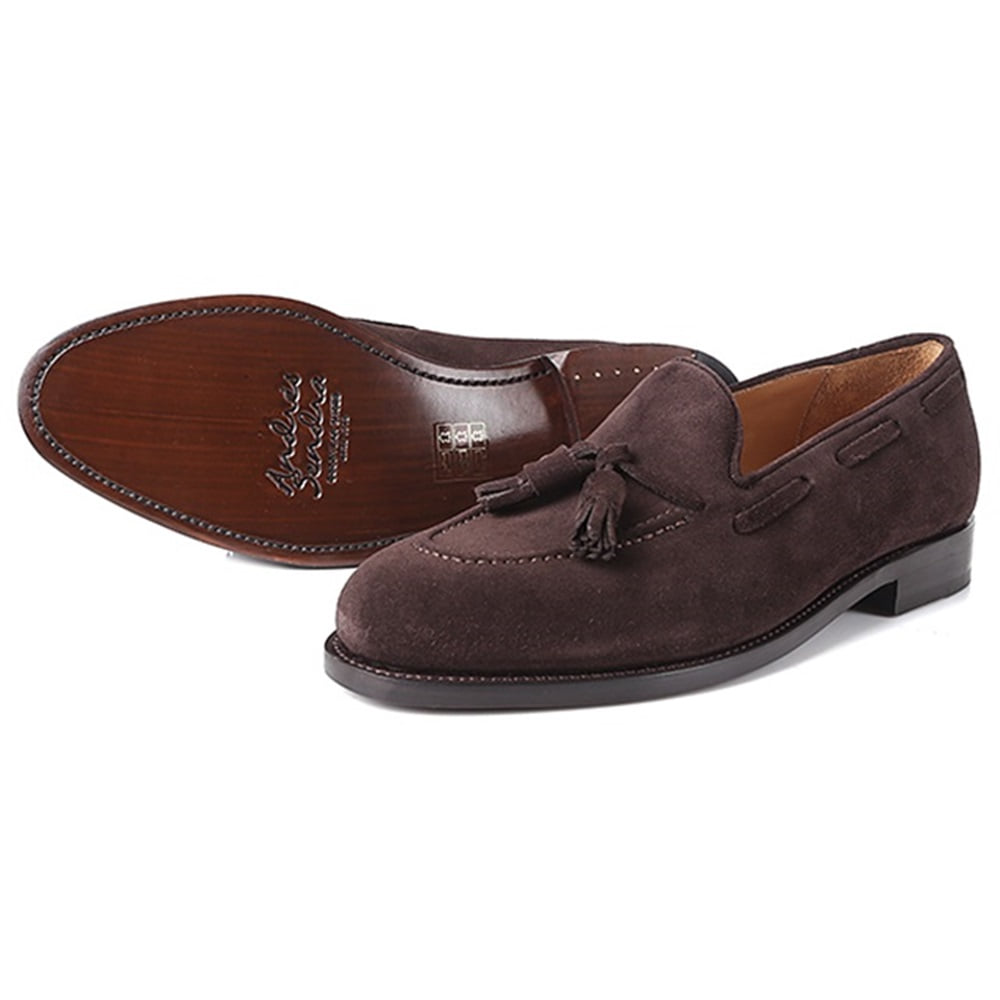 13338 Tassel Loafer ChocoAndresSendra(안드레스샌드라)