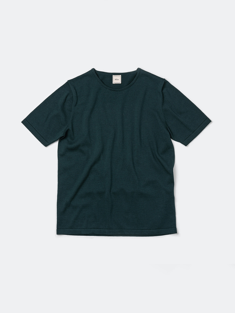 Piping crewneck_GreenVERNO(베르노)