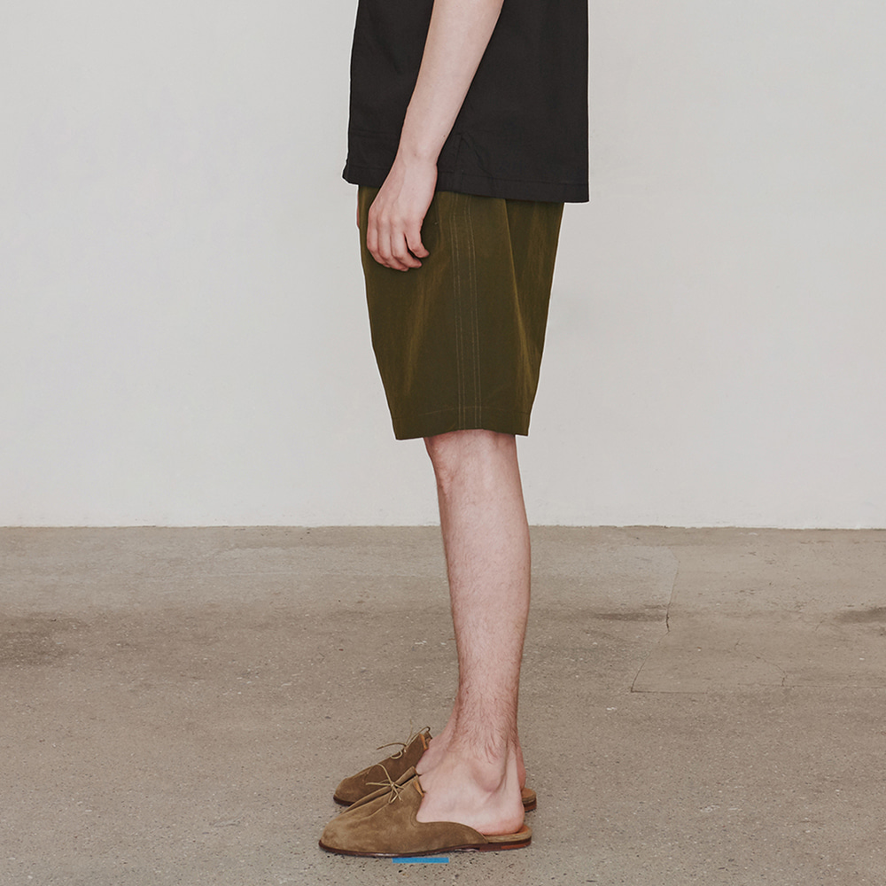 Nylonical Shorts (Khaki)에스파이(ESFAI)