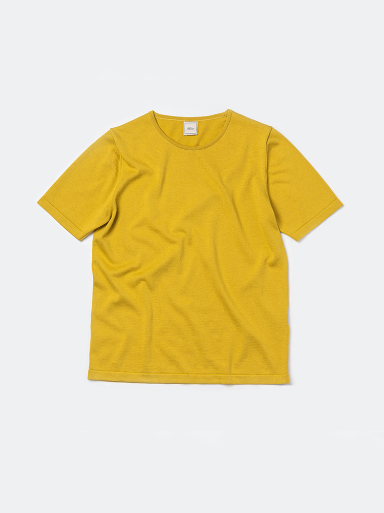 Piping crewneck_YellowVERNO(베르노)