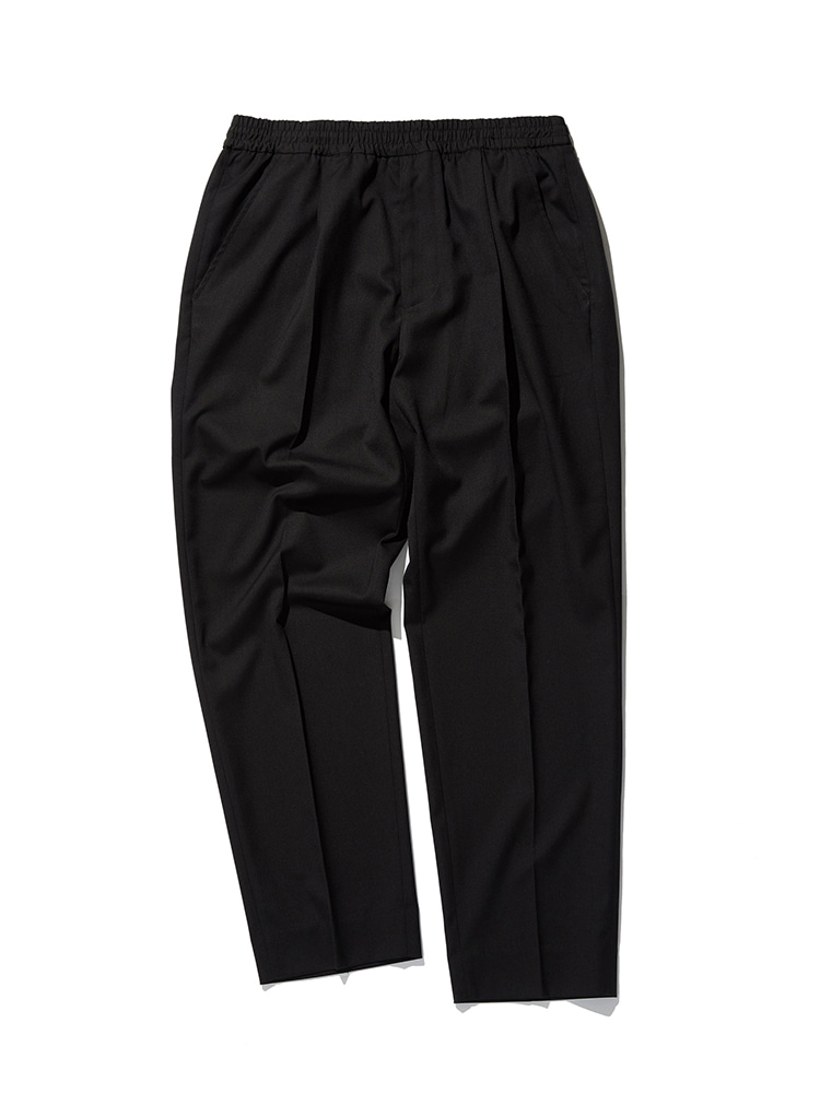 Invisible Drawstring Trousers (Black)Esfai(에스파이)