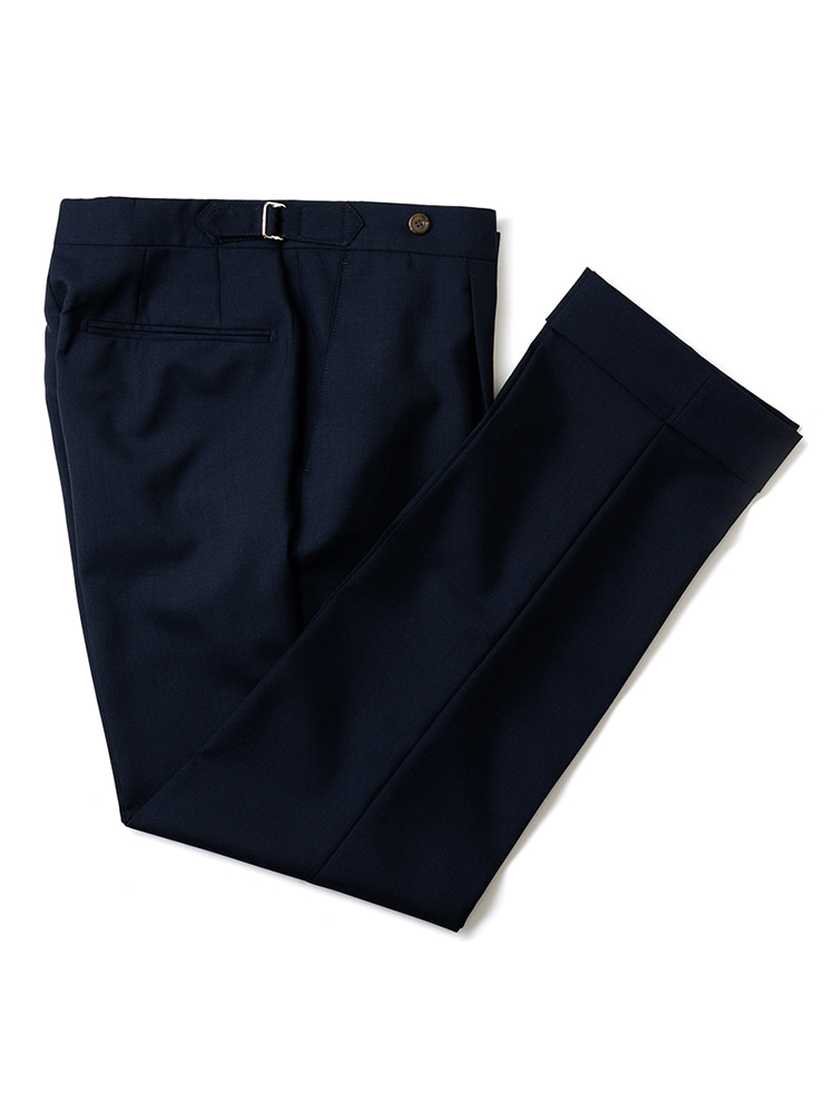 Canonico fresco pants - navy (2PLY)ESTADO(에스타도)
