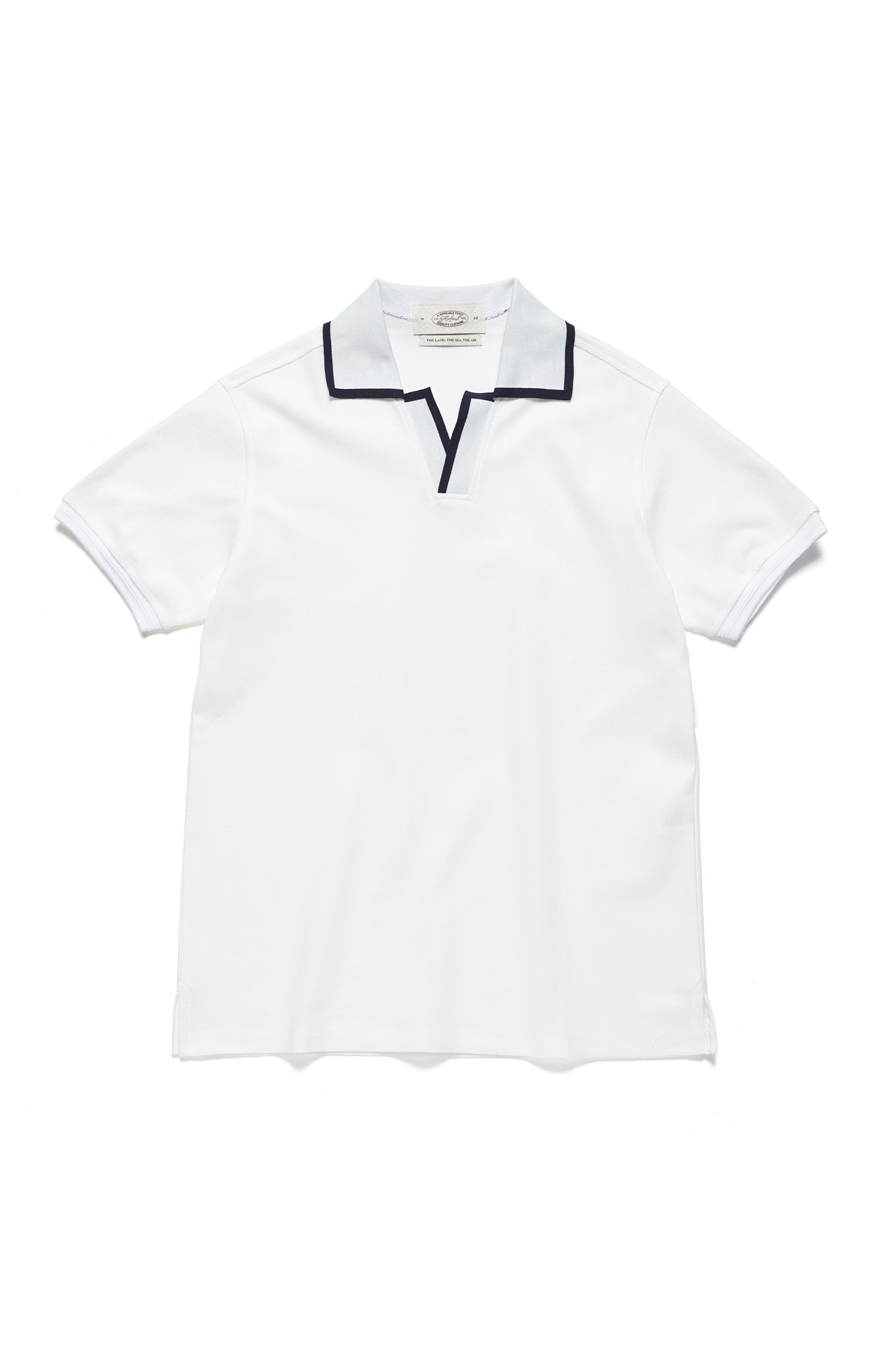 WHITE LINE POLO SHIRTSAmfeast(암피스트)