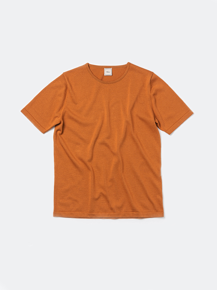 Piping crewneck_OrangeVERNO(베르노)