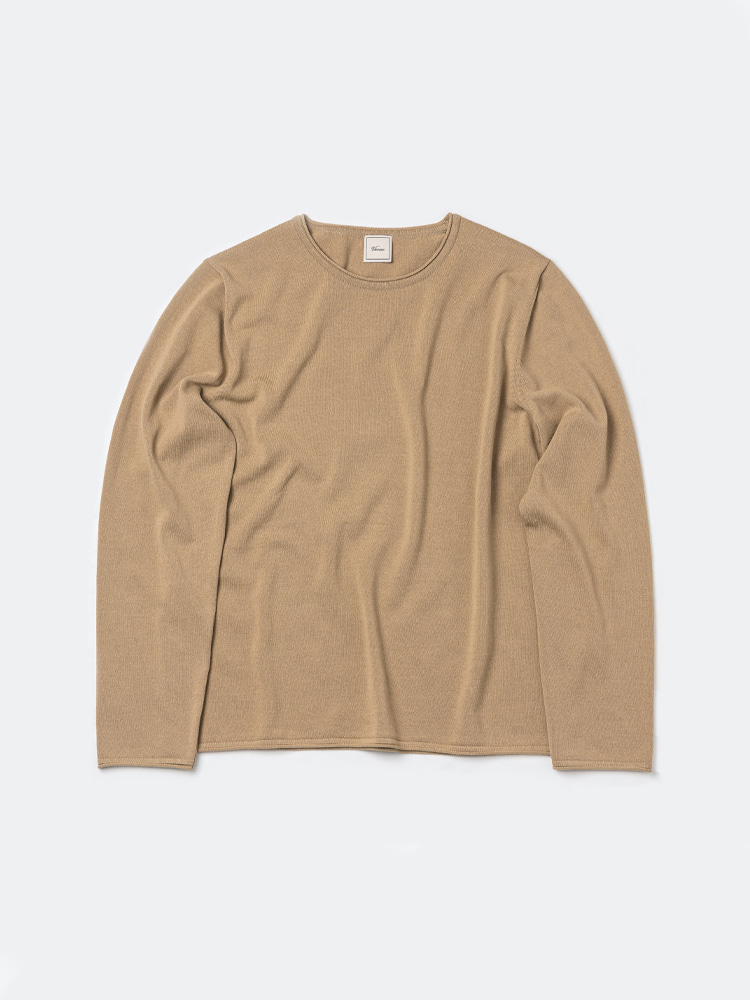 Long sleeve roll-neck_BeigeVERNO(베르노)