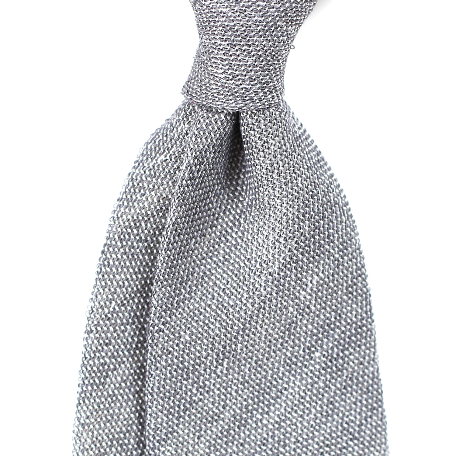 [BASIC] Gray Meshed Texture NecktieFrui1+1이벤트