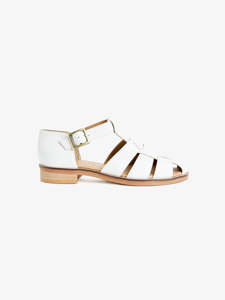 women Neutrum Gurkha Sandal (white)Neute(누트)