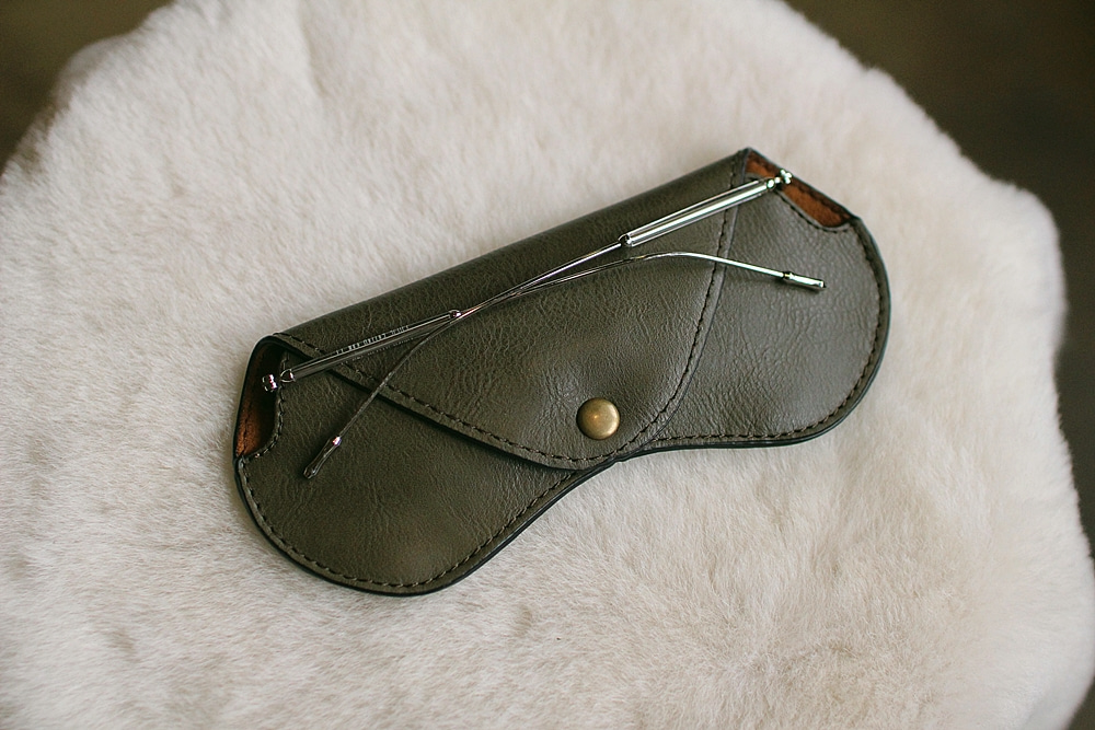 eyewear case olive greenTstarT(티스타티)L size