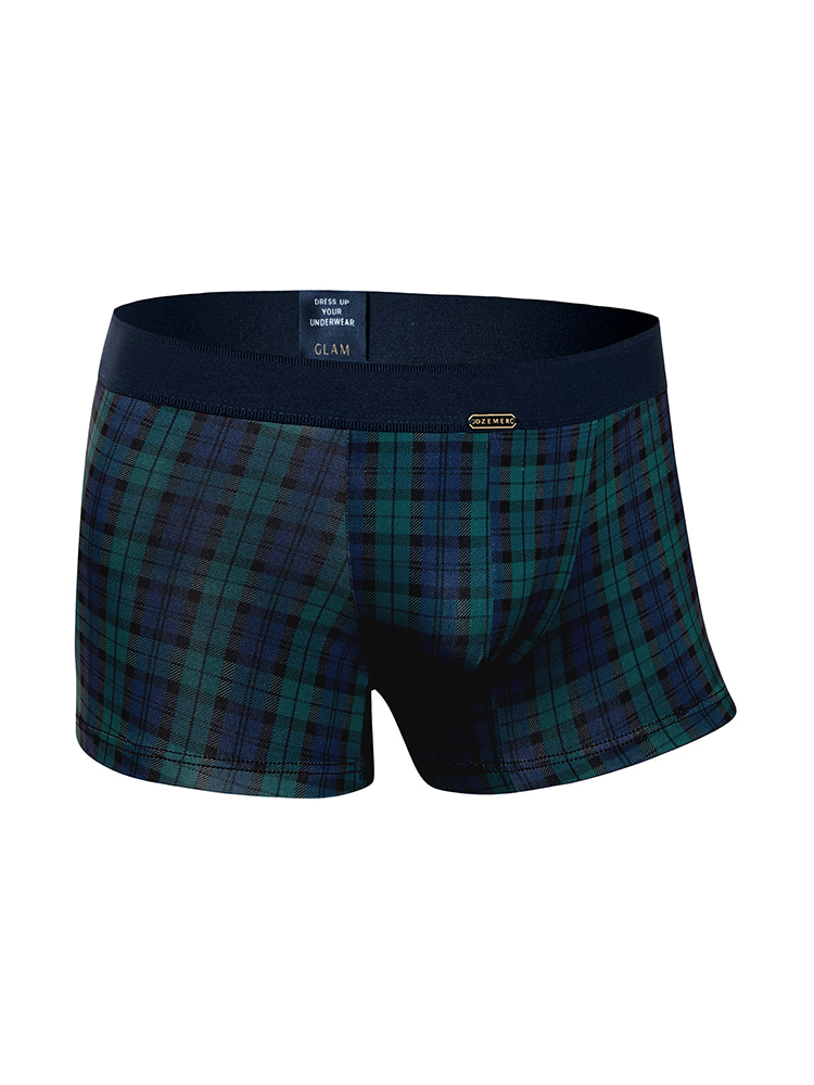 BLACKWATCH BOXER BRIEFS navyDZEMER(드제메르)