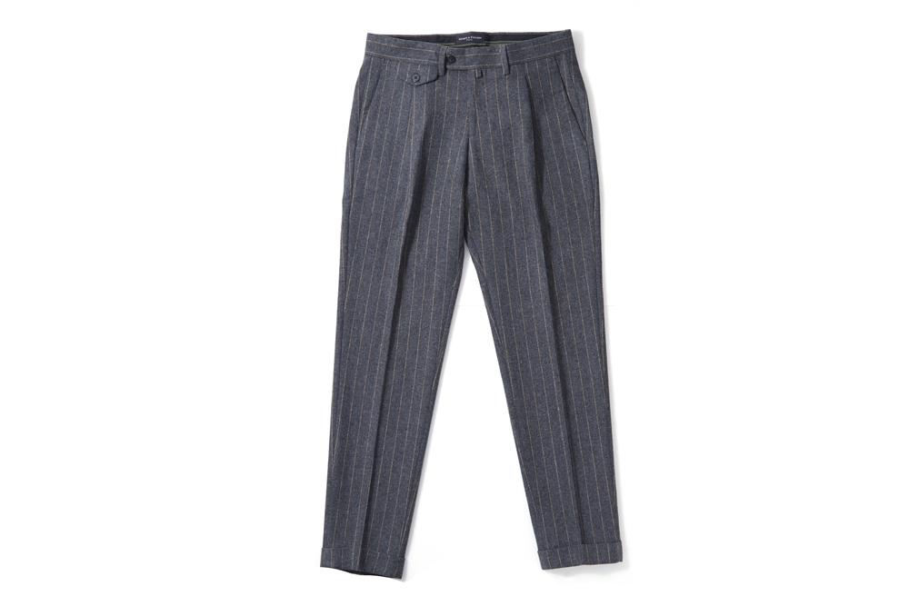 Pin Stripe Wool Pants_GYbenacofontana(베나코폰타나)