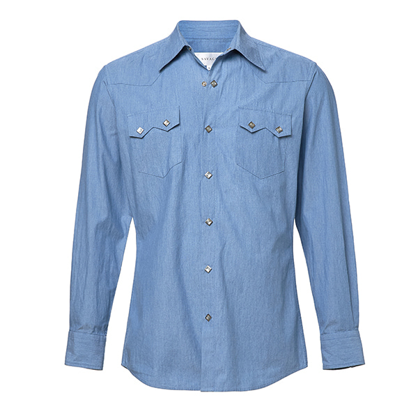 Chambray Western Shirts SAVAGE(세비지)