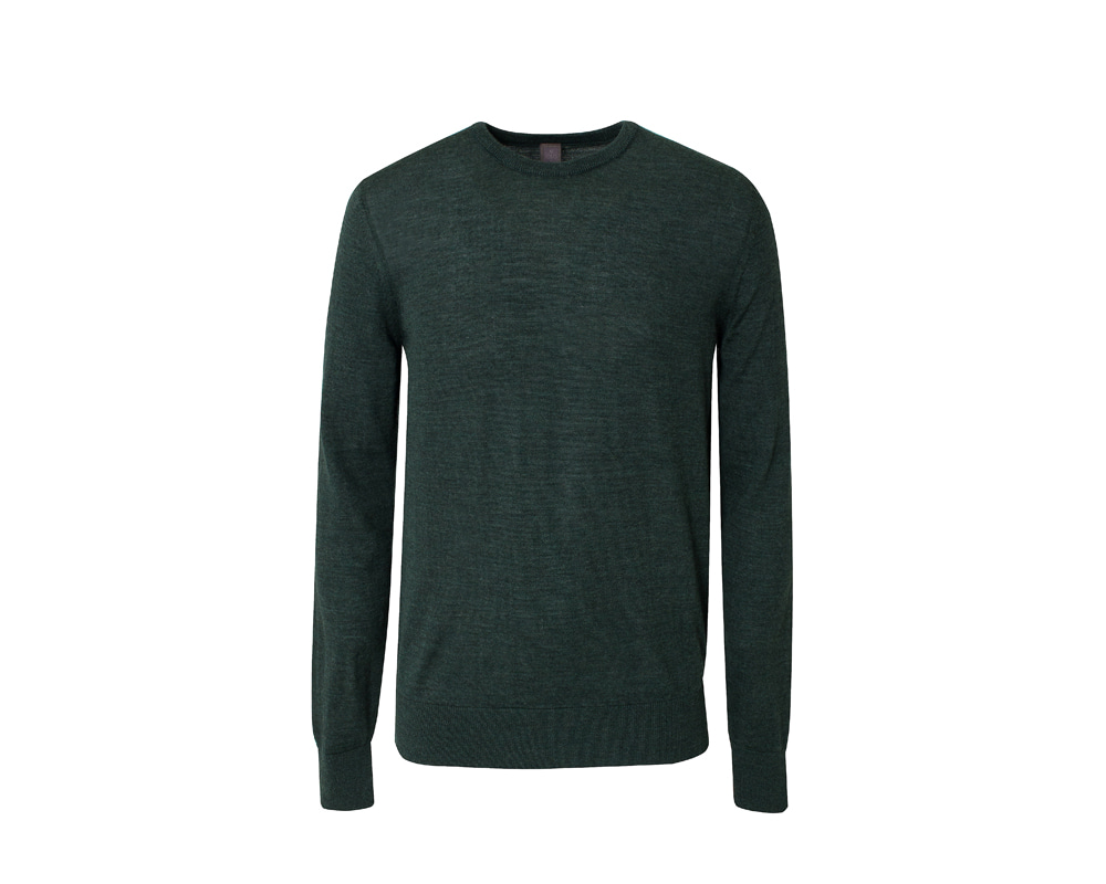 Essential Crewneck_greenIOLO(이올로)