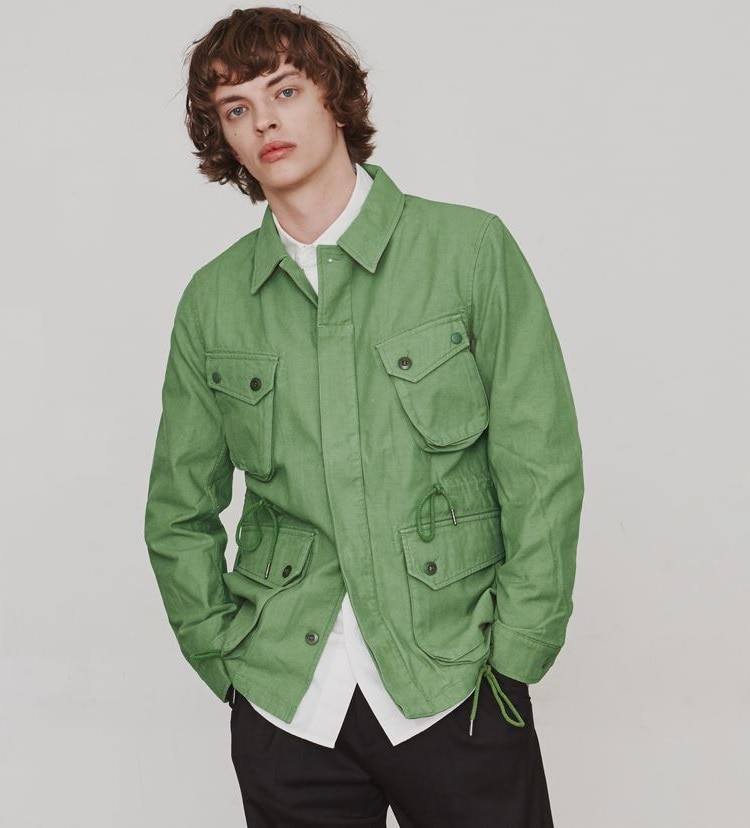 COTTON P.IELD JACKET (GREEN)ESFAI(에스파이)