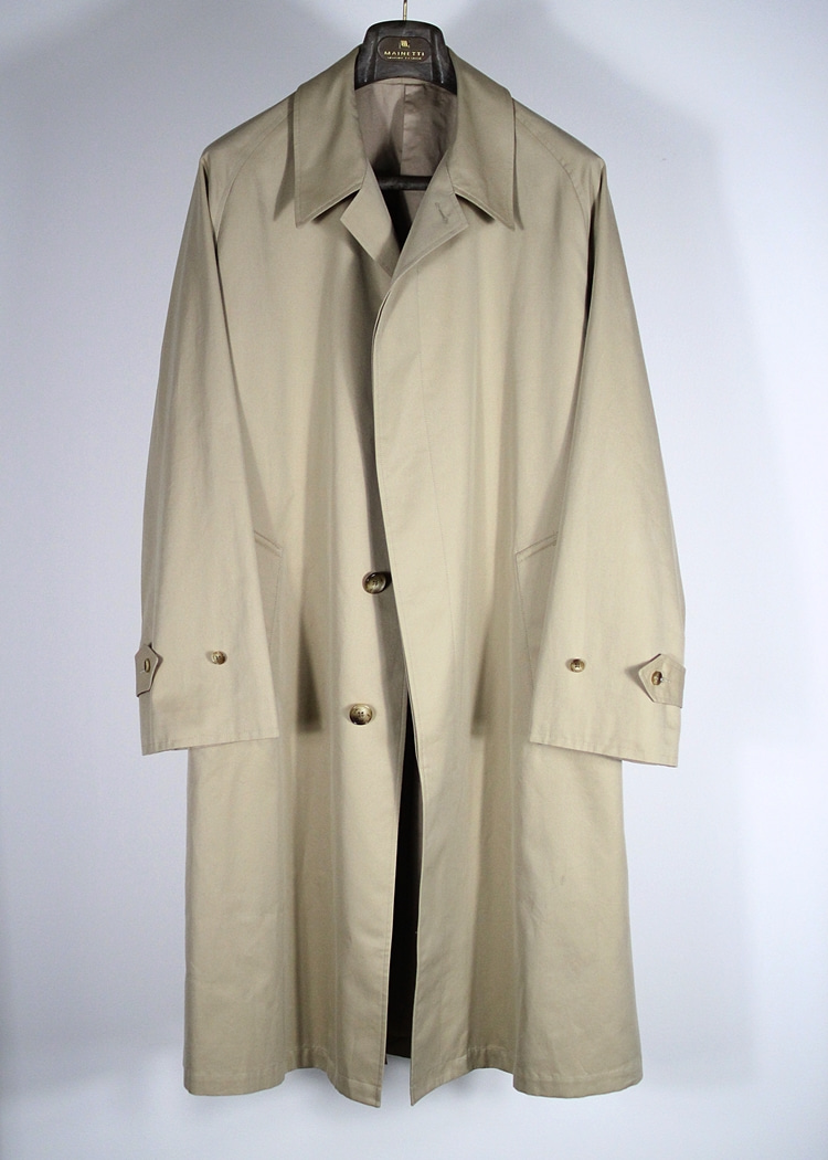 Beige single trench coat  'CADERE'TANNERY(테너리)