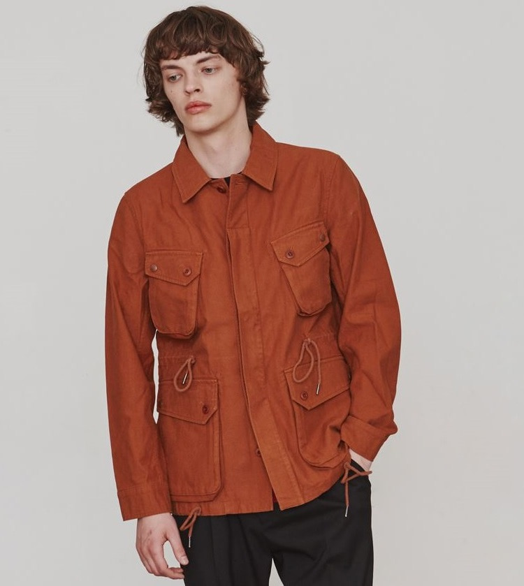 COTTON P.IELD JACKET (BROWN)ESFAI(에스파이)
