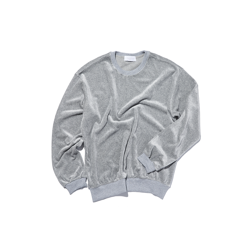 VELOUR SWEAT GREYDGRE(디그레)