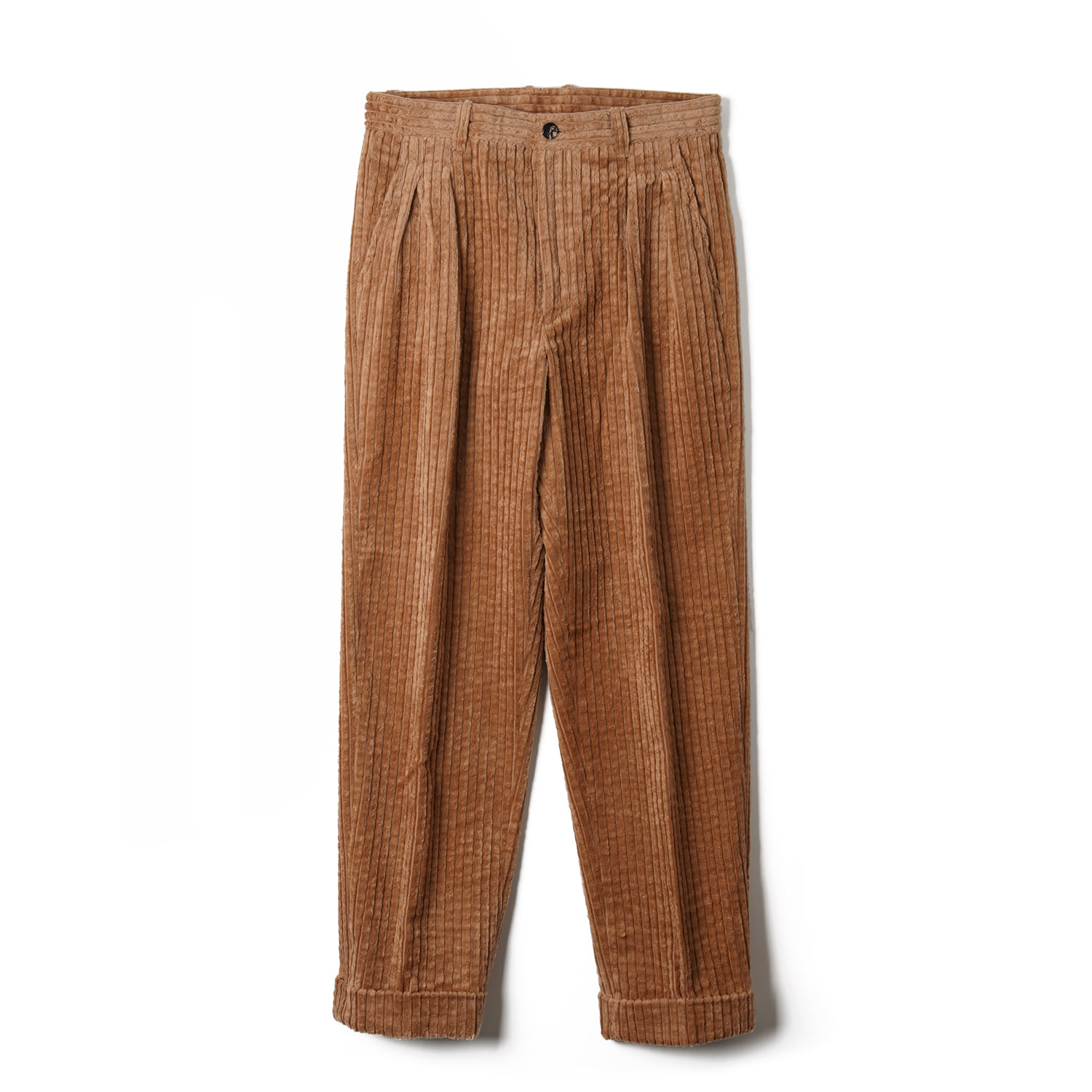 OSF Corduroy Two-tuck Pants - CamelBants(반츠)
