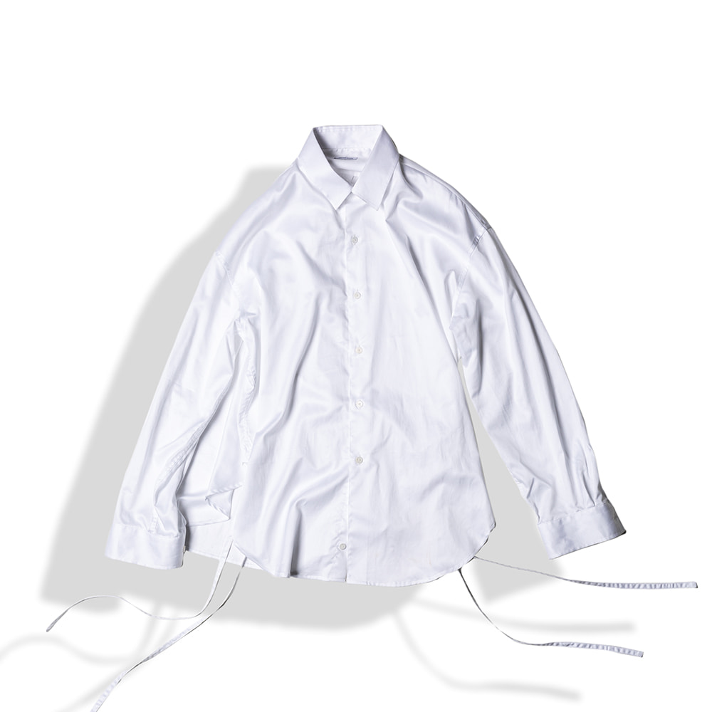 STRING GLOSSY COTTON SHIRTS / WHITEArttitude(아티튜드)10월15일배송