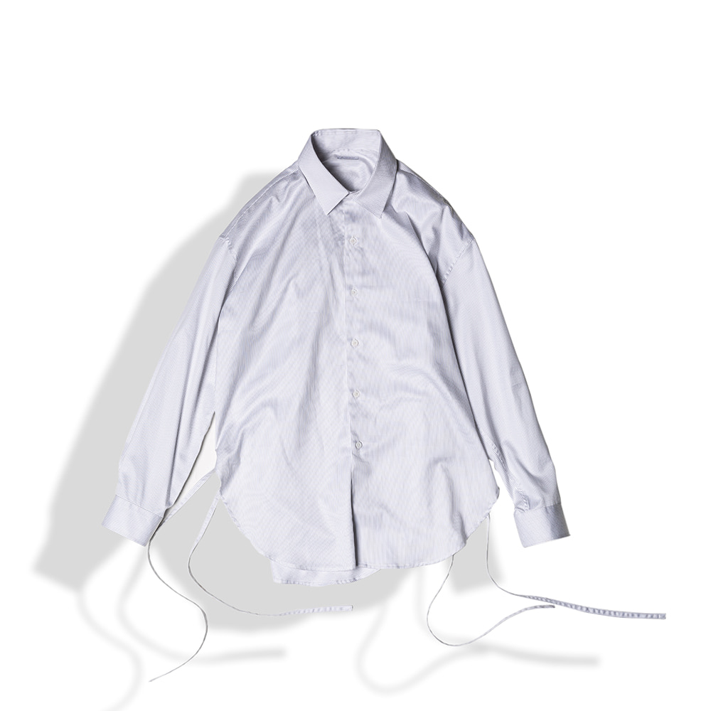 STRING GLOSSY COTTON SHIRTS / STRIPEArttitude(아티튜드)10월15일배송