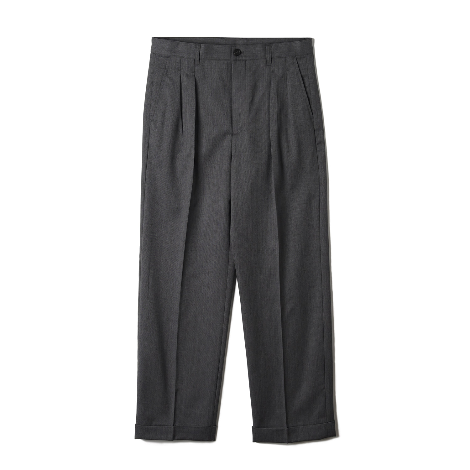 OSF Wool Two-tuck Wide Pants - GreyBants(반츠)
