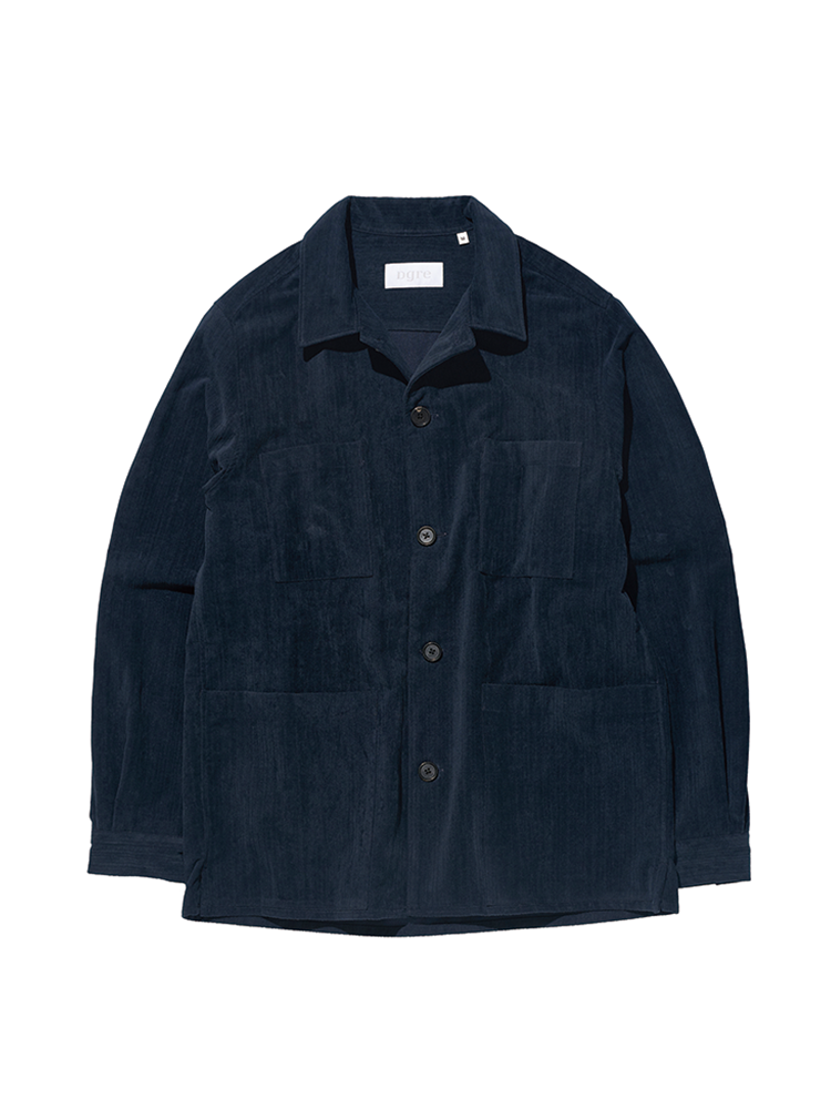 HACKNEY CORD JACKET NAVYDGRE(디그레)