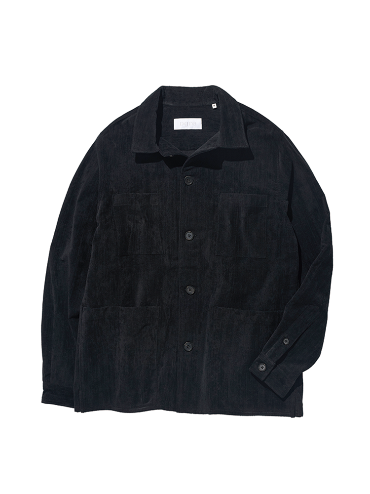 HACKNEY CORD JACKET BLACKDGRE(디그레)
