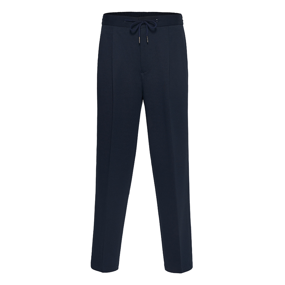 PLEATED EASY PANTS RAKE NAVYDZEMER(드제메르)2차재입고