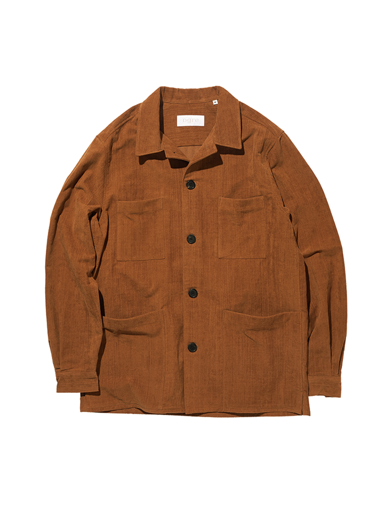 HACKNEY CORD JACKET BROWNDGRE(디그레)