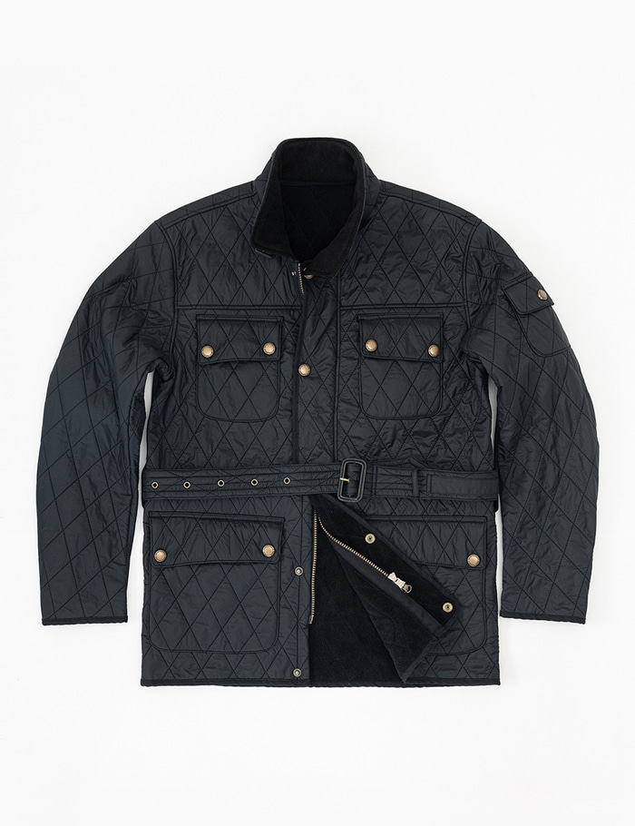 Racer Quilted Jacket BLACKOrtusvasterds(올투스바스터즈)
