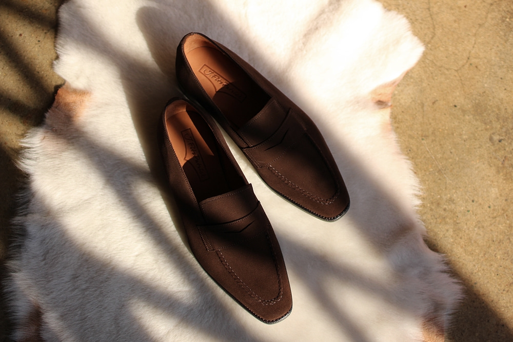 JEON III Penny loafer DARK BROWN SUEDEJ.fitzPatrick(제이피츠패트릭)입고기념 이벤트