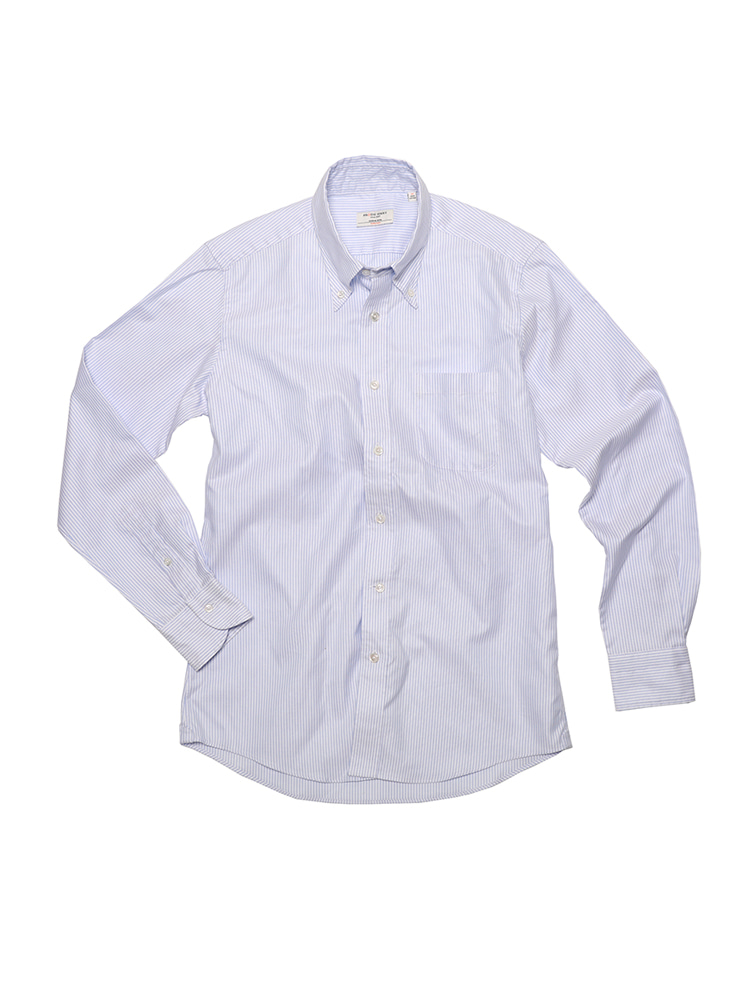 SOFT OXFORD STRIPE SHIRT (BL) PRODE SHIRT(프로드셔츠)