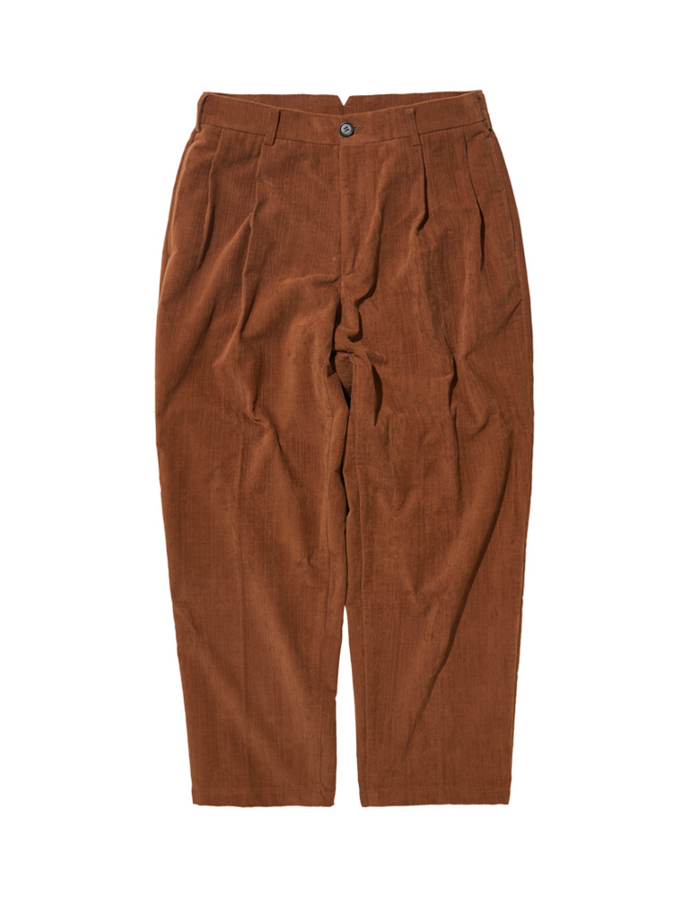 DALSTON CORD WIDE TAPERED PANTS BROWNDgre(디그레)
