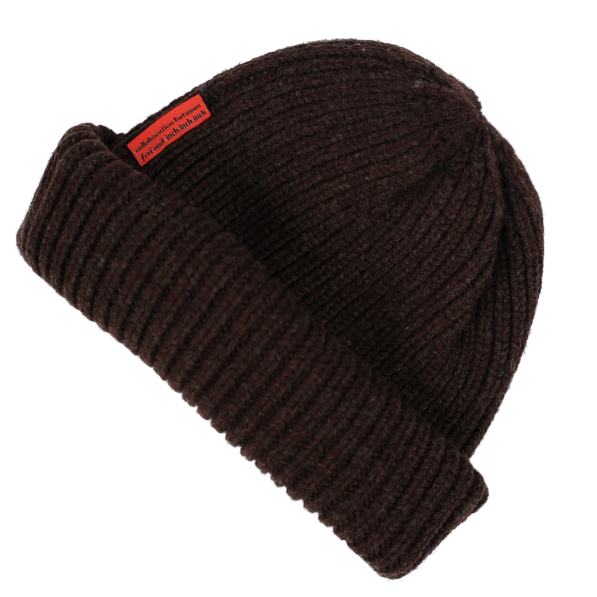 THE FINEST LAMBSWOOL BEANIE_BROWNFrui(프루이)