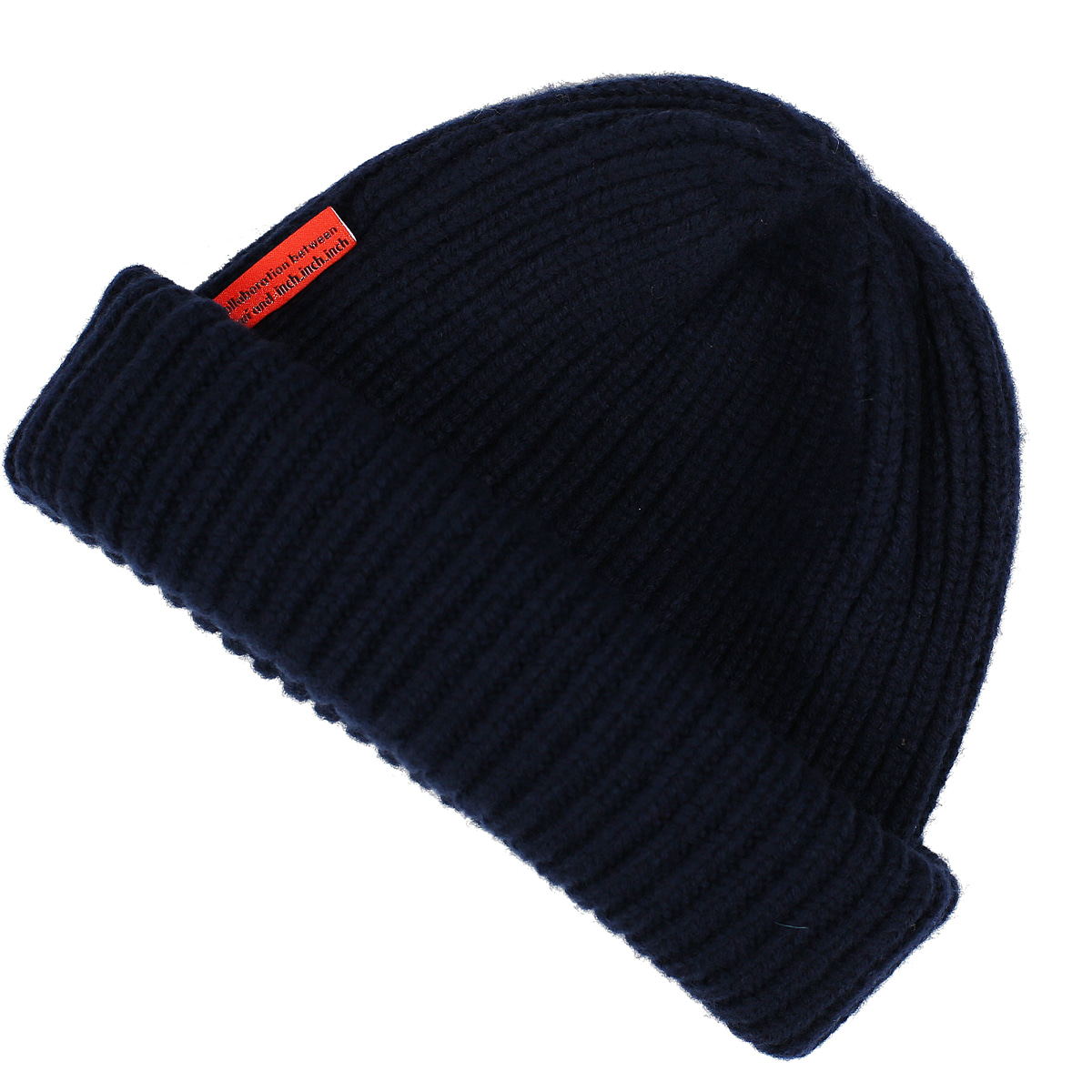THE FINEST LAMBSWOOL BEANIE_NAVYFrui(프루이)