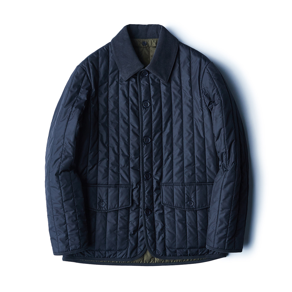 fd09 Quilted Jacket (Navy)ESFAI(에스파이)
