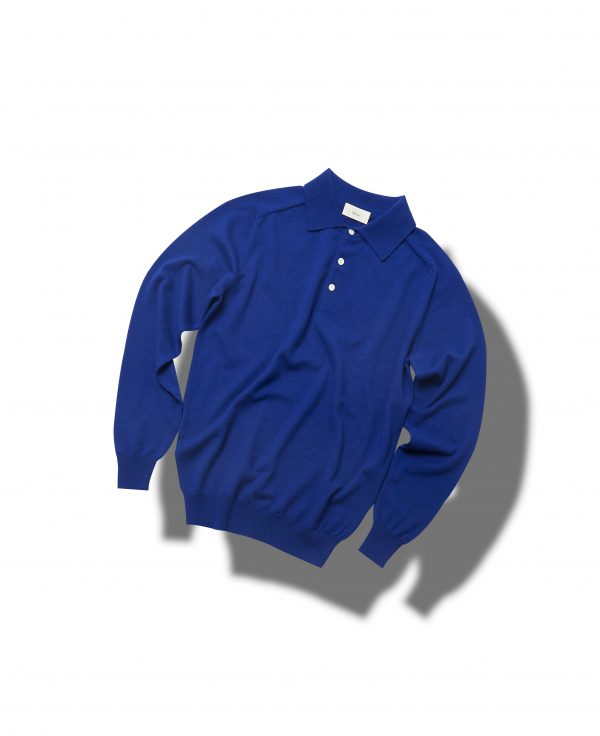 Raglan knit polo_Cobalt blueVerno(베르노)