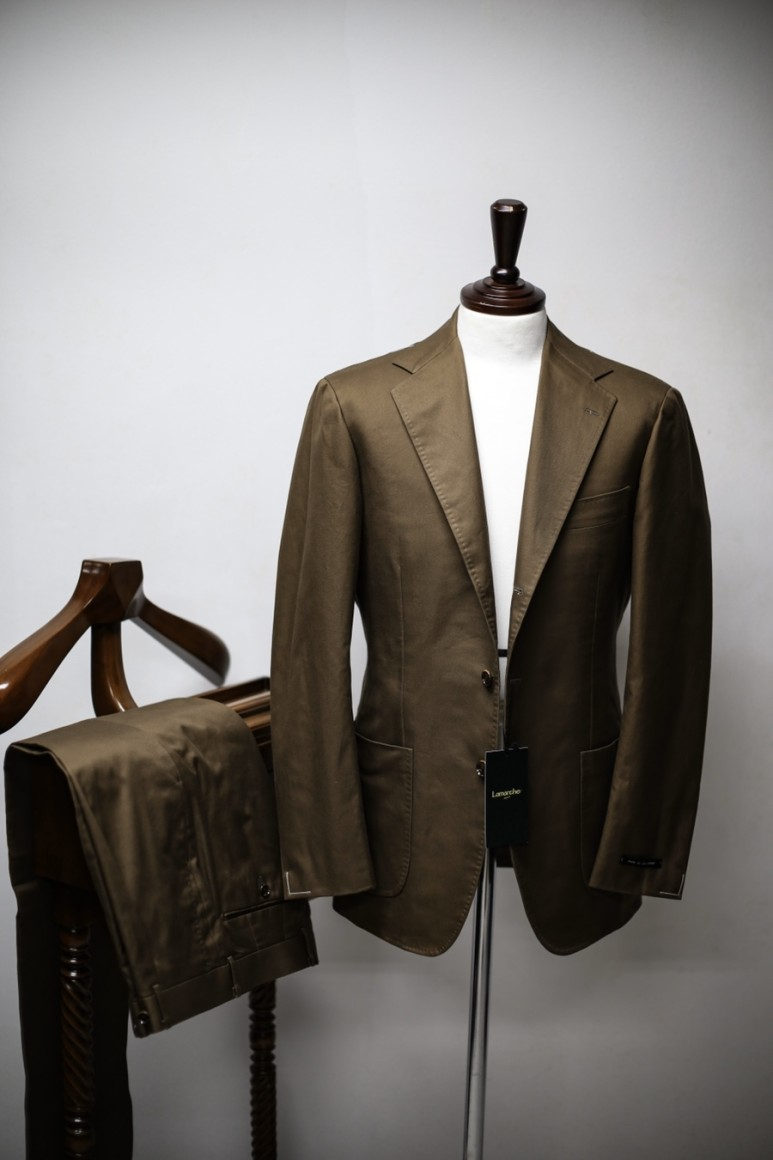 20 S/S BROWN SUPIMA COTTON SUITLamarche Napoli라마르쉐나폴리
