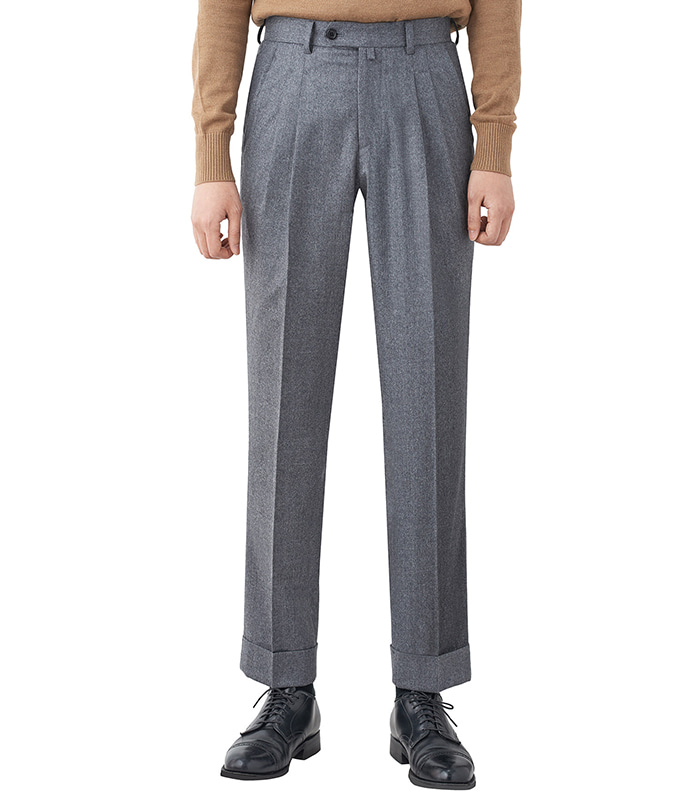 Canonico Trousers - GREYMEVERICK(메버릭)