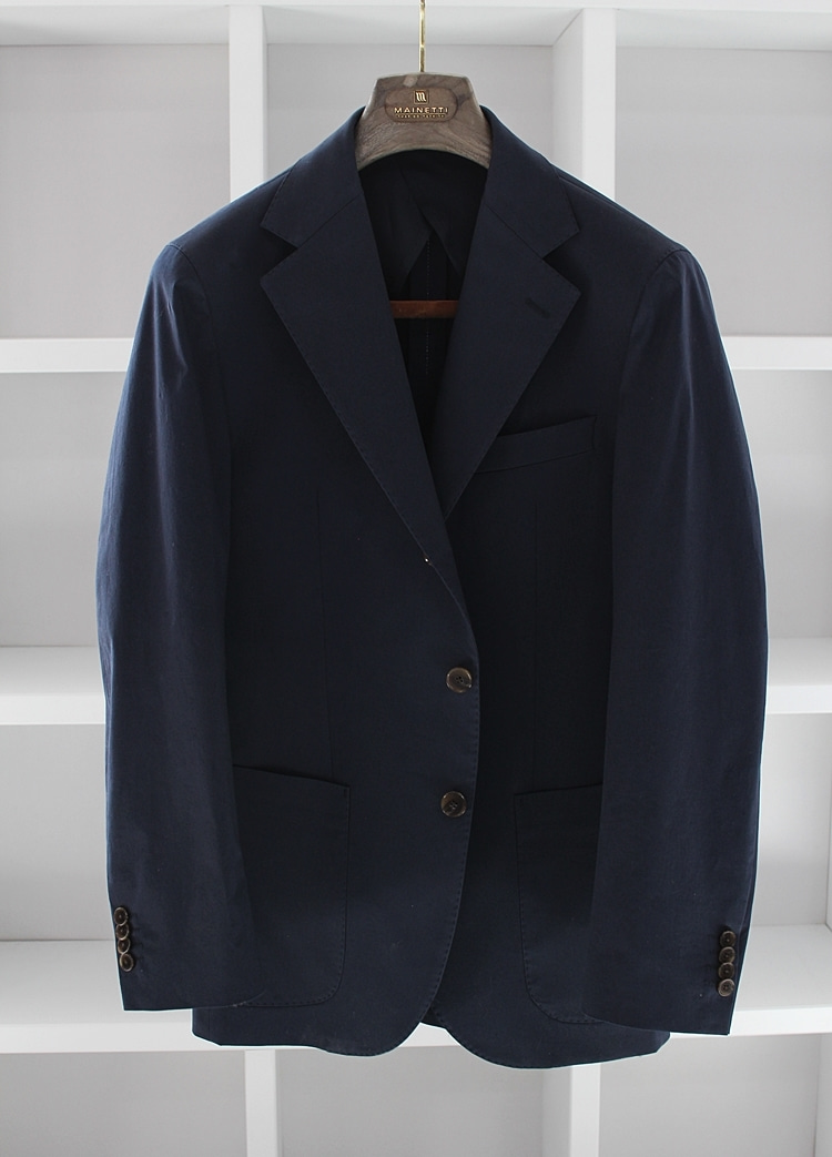 Navy cotton JacketCOMPLETO(꼼플레토)